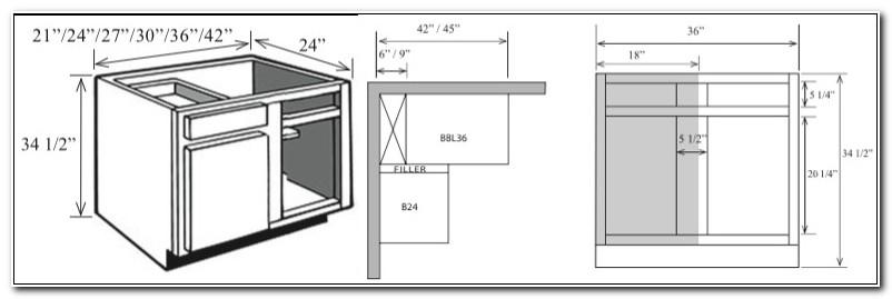 Blind Base Corner Cabinet Dimensions