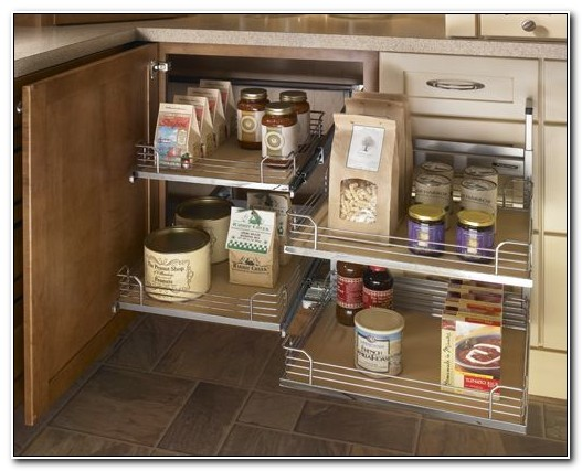 Blind Cabinet Storage Solutions