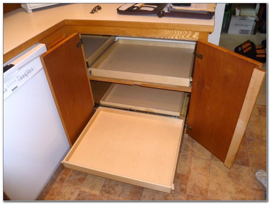 Blind Corner Cabinet Lazy Susan