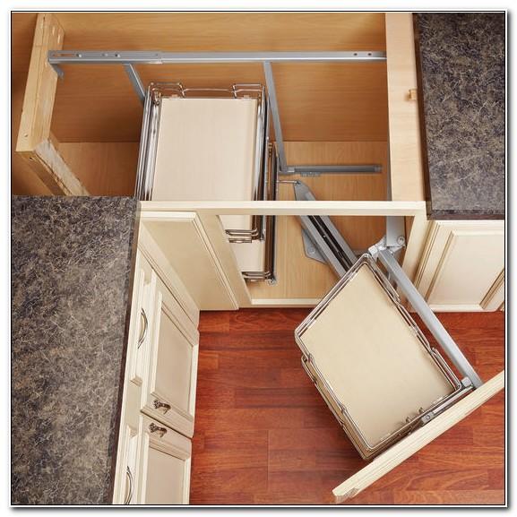 Blind Corner Kitchen Cabinet Shelving