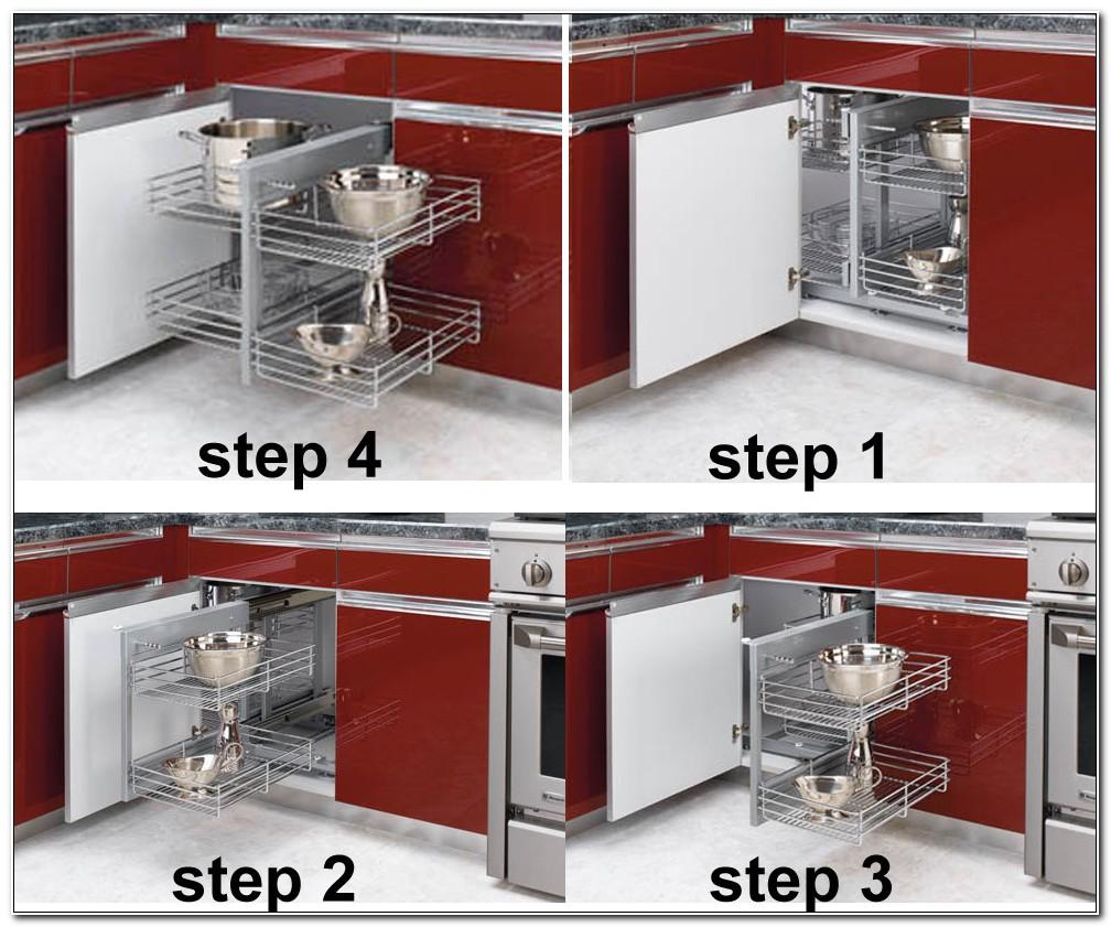 Blind Corner Kitchen Cabinet Storage