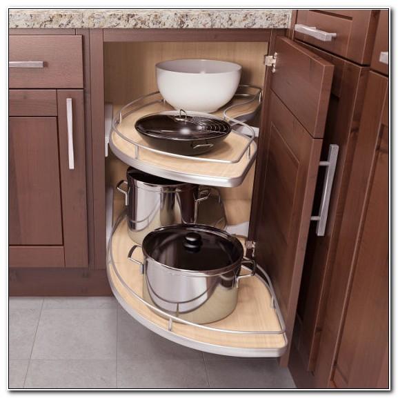 Blind Kitchen Cabinet Organizer