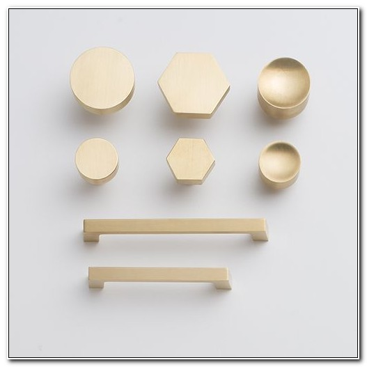 Brass Knobs For Cabinets