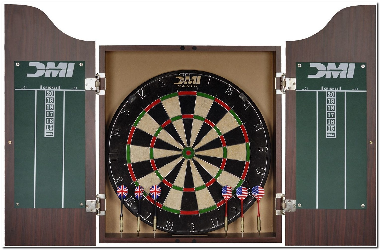 Bristle Dart Boards With Cabinets