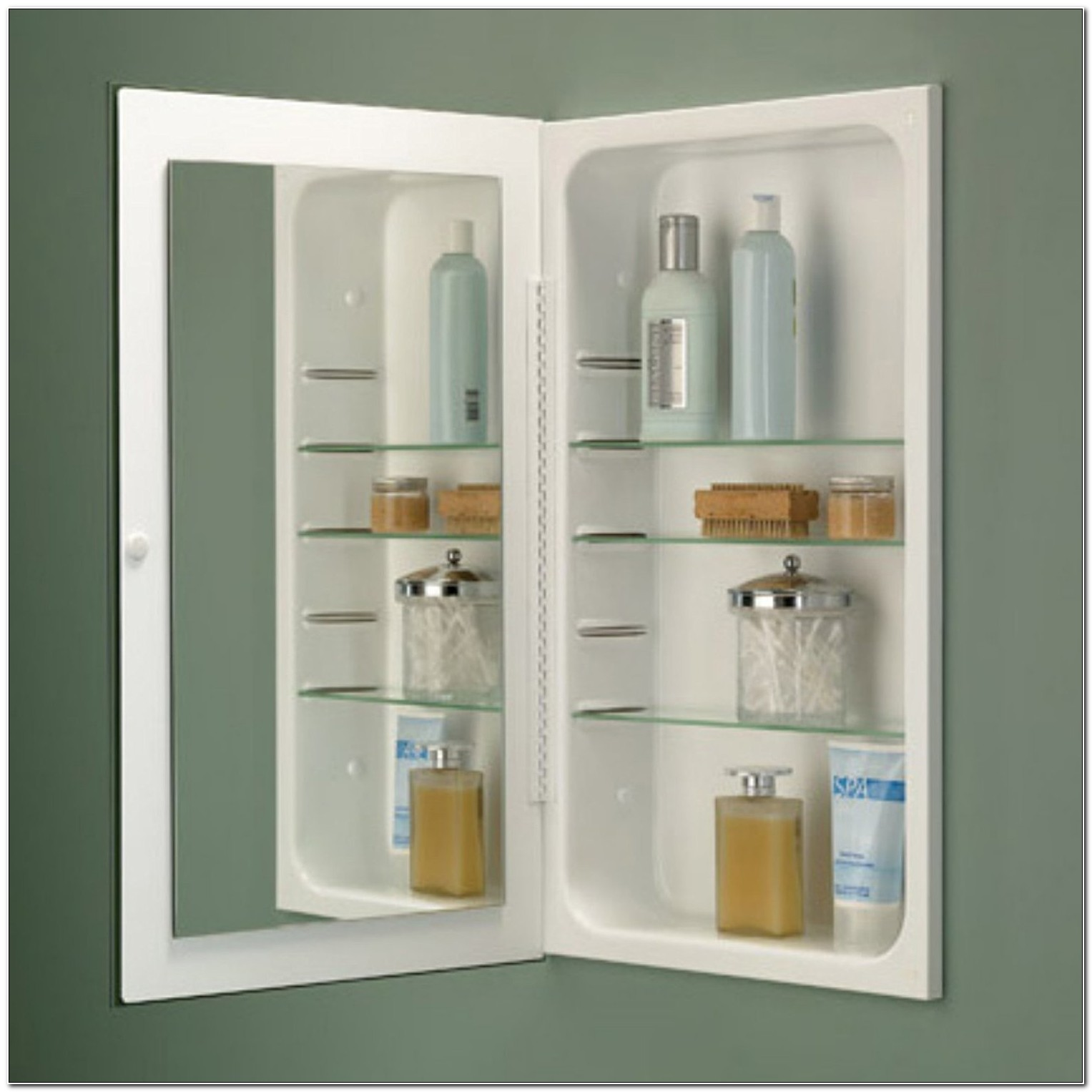 Broan Nutone Medicine Cabinet With Lighted