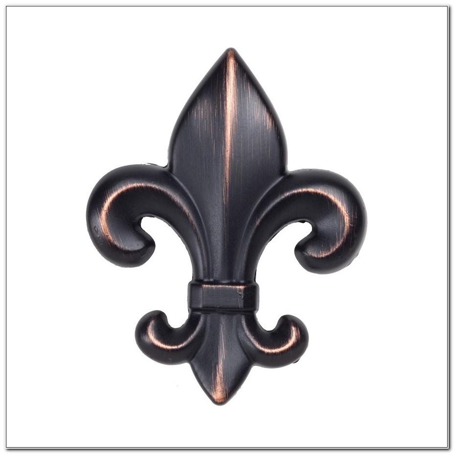 Bronze Fleur De Lis Cabinet Knobs