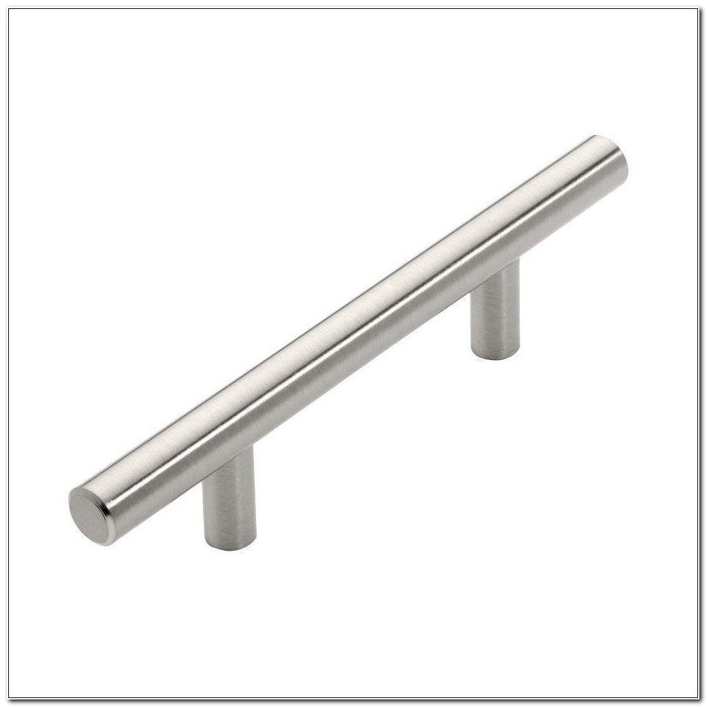 Brushed Nickel Bar Pulls For Cabinets