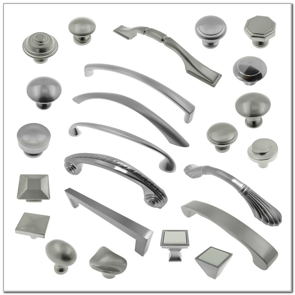 Brushed Nickel Cabinet Pulls And Knobs