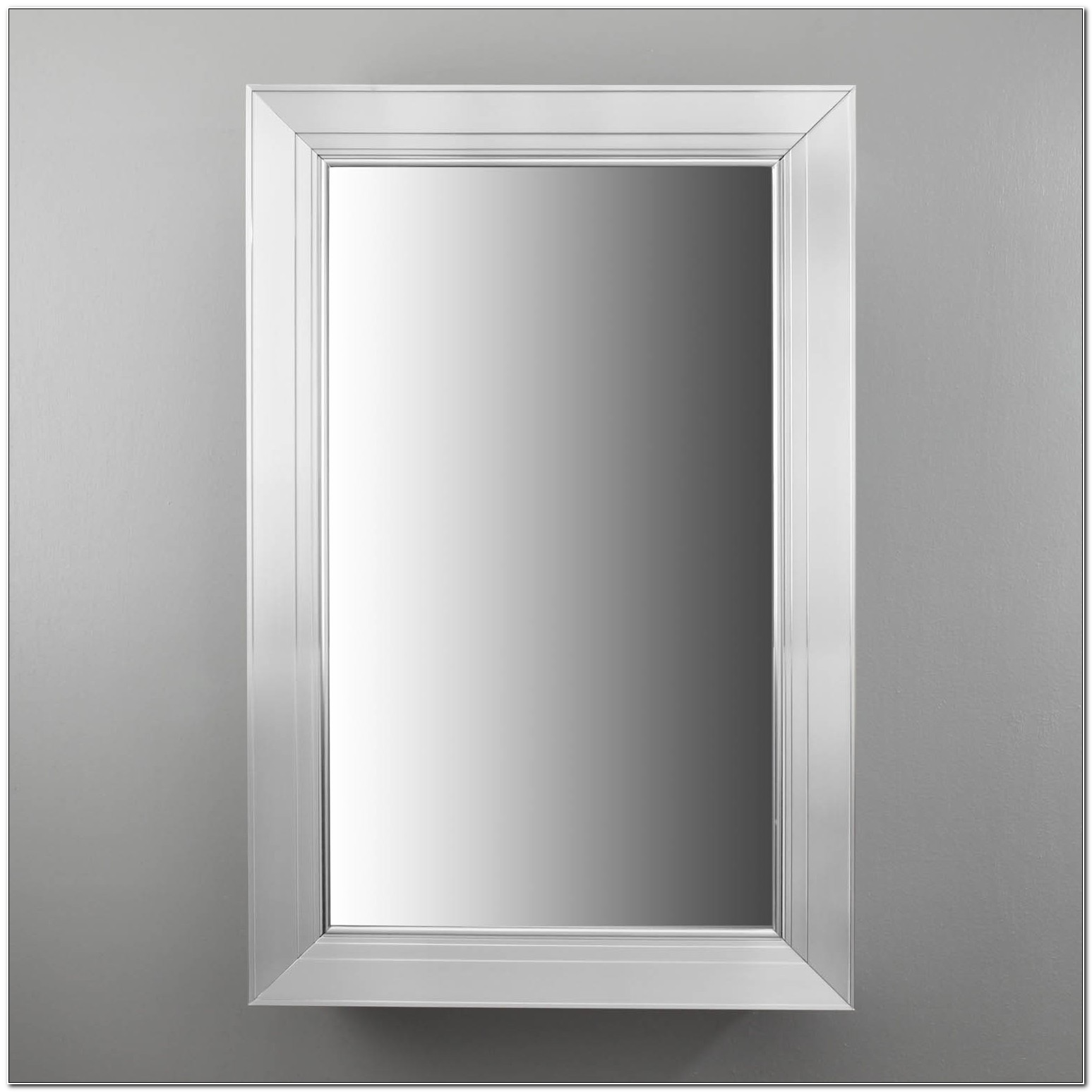 Brushed Nickel Recessed Medicine Cabinet From Robern