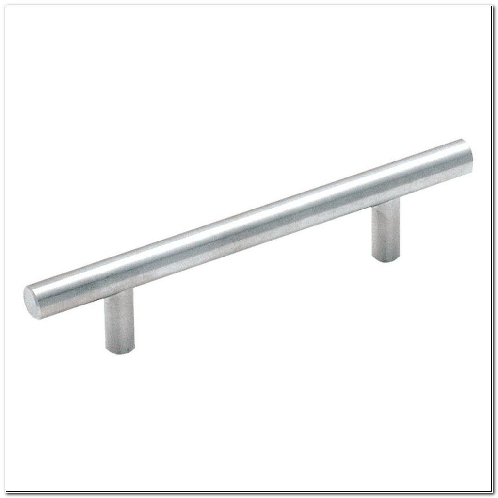 Brushed Stainless Steel Cabinet Bar Pulls