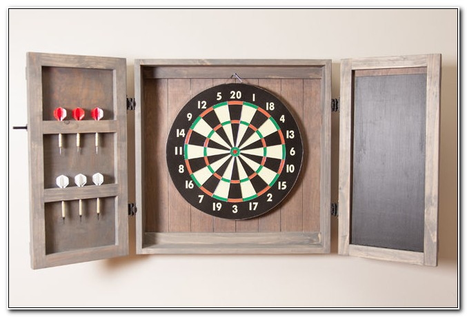 Build A Dart Board Cabinet Plans