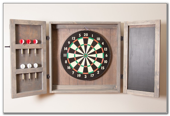 Build A Dart Board Cabinet