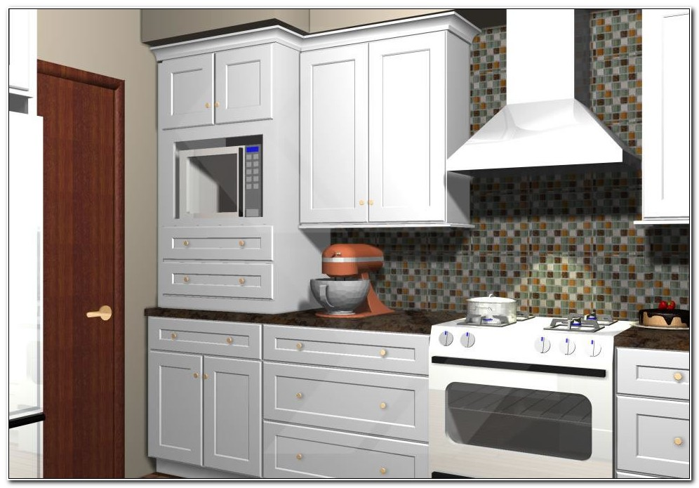 Build In Cabinet Microwave