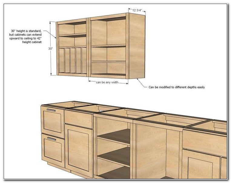 Build Your Own Cabinets Cheap