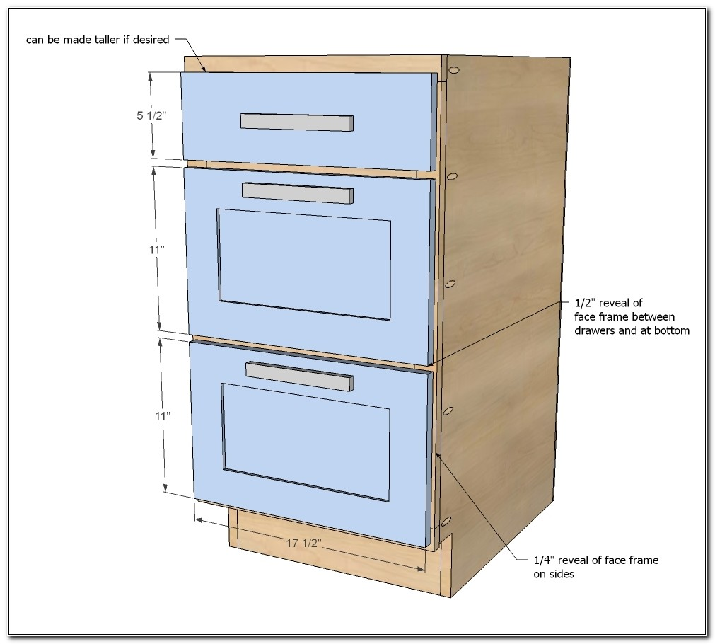 Build Your Own Kitchen Cabinet Drawers