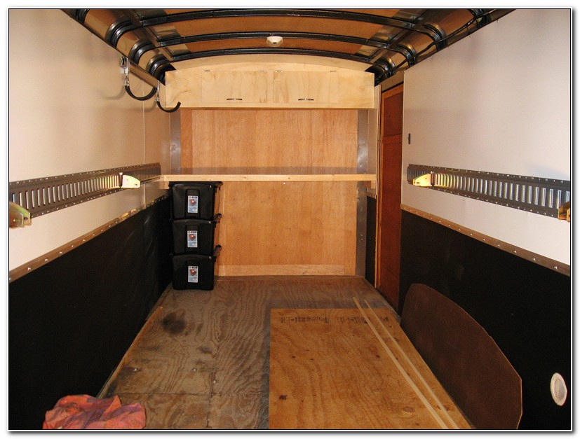 Building Cabinets For Enclosed Trailer