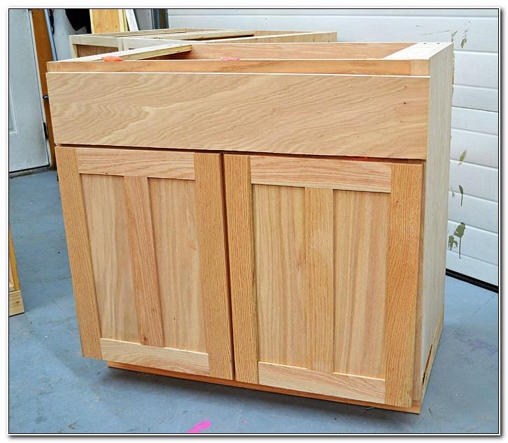 Building Full Overlay Cabinet Doors
