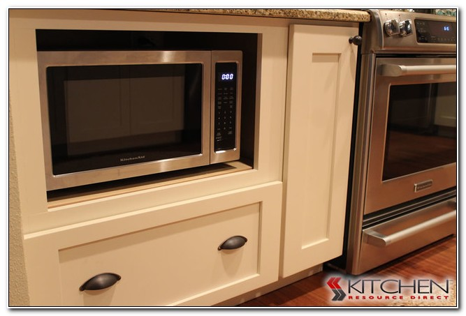 Built In Lower Cabinet Microwave