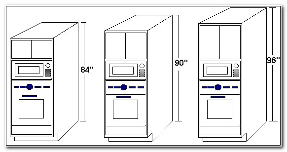 Built In Microwave Cabinet Size