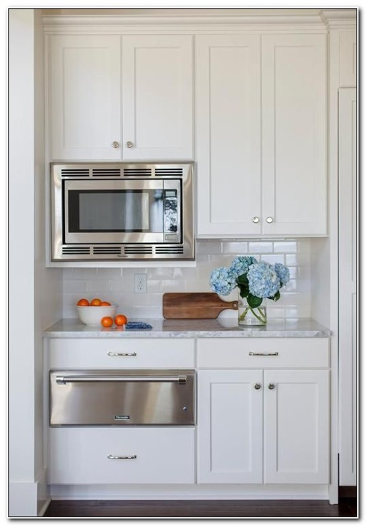 Built In Microwave Upper Cabinet