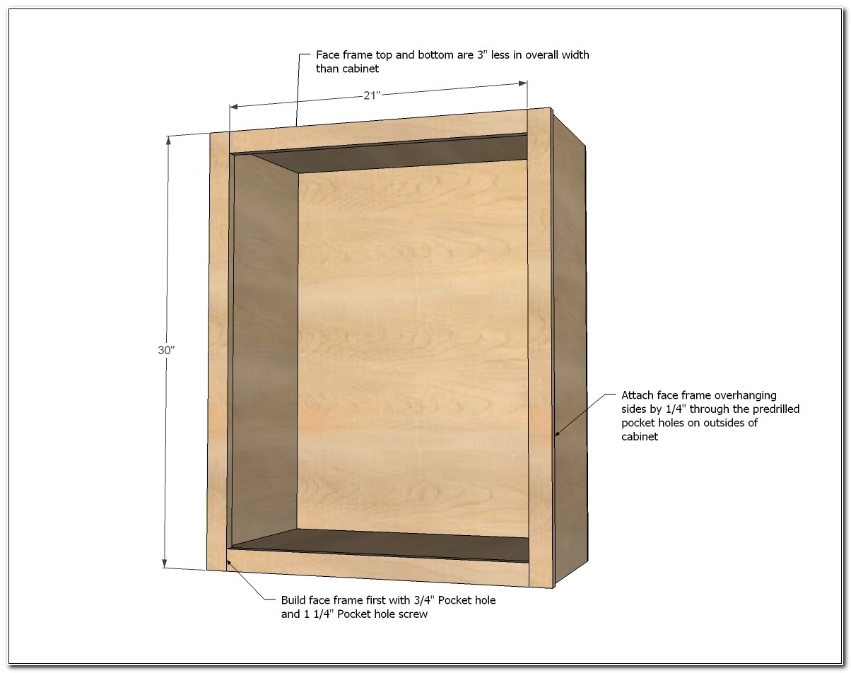 Built In Oven Cabinet Construction