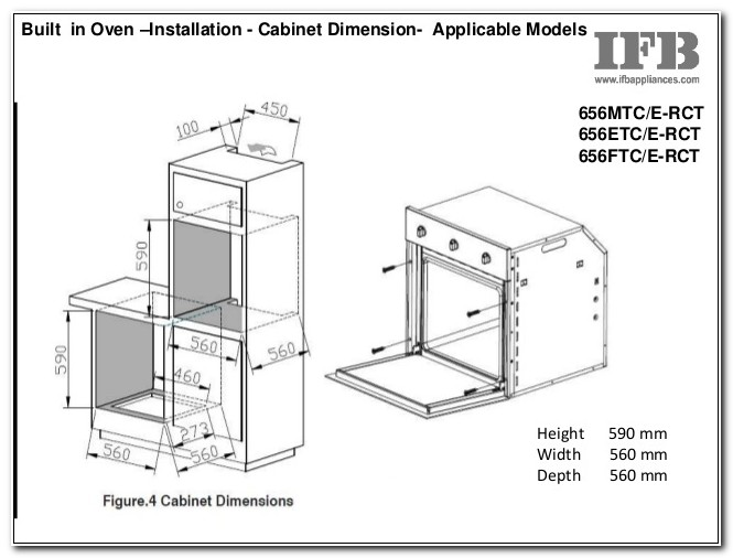 Built In Oven Cabinet Plans