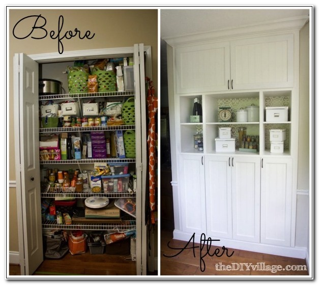 Built In Pantry Cabinet Plans