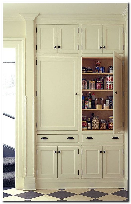 Built In Pantry Cabinet