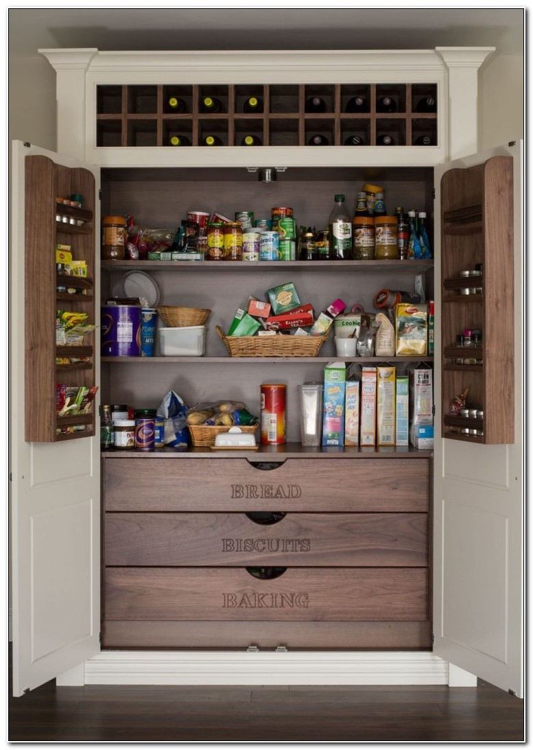 Built In Pantry Cupboard