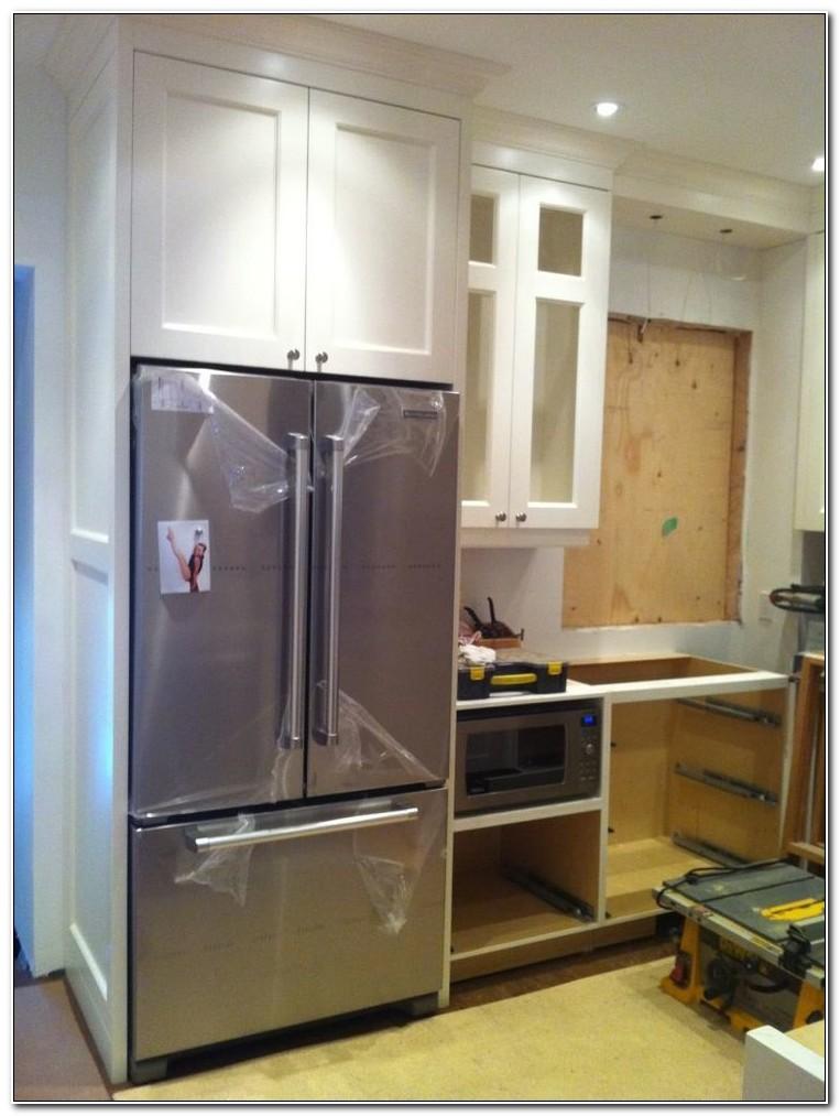 Built In Refrigerator Cabinet Depth
