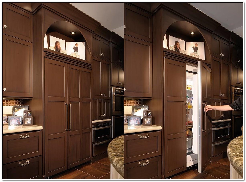 Built In Refrigerator Cabinet Design