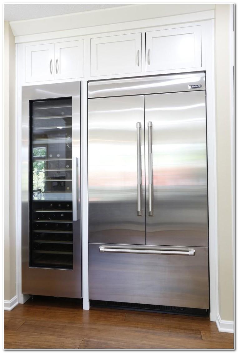 Built In Refrigerator Cabinet Kit