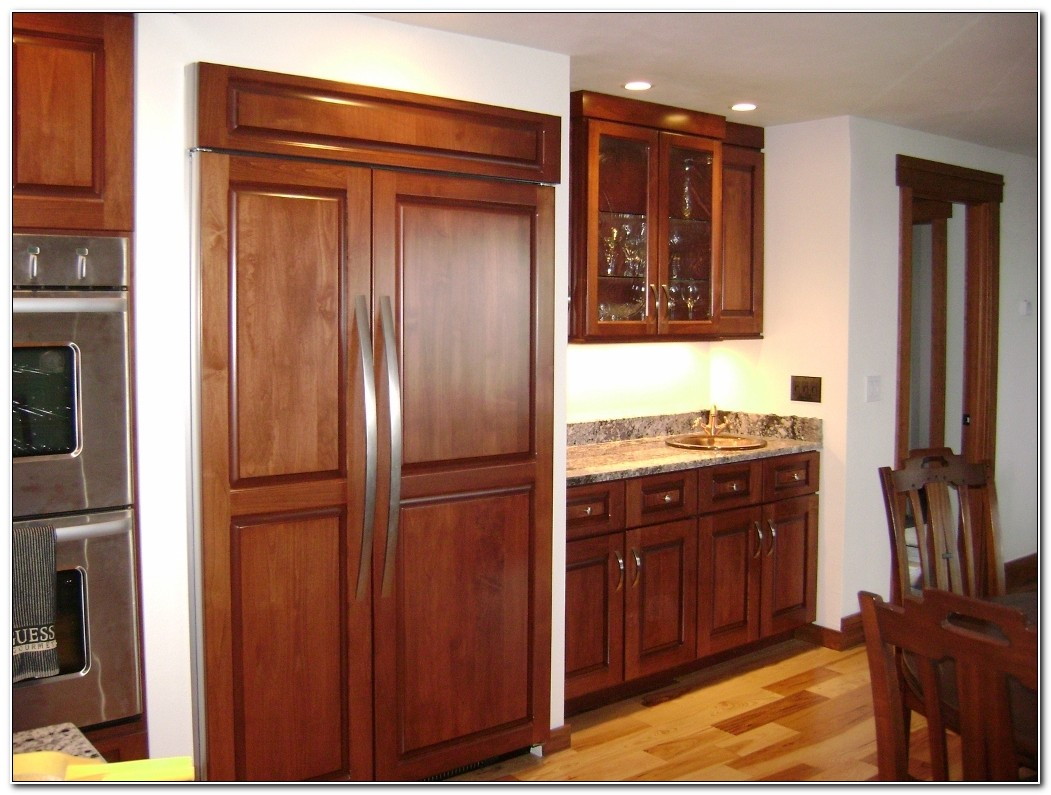 Built In Refrigerator Cabinet