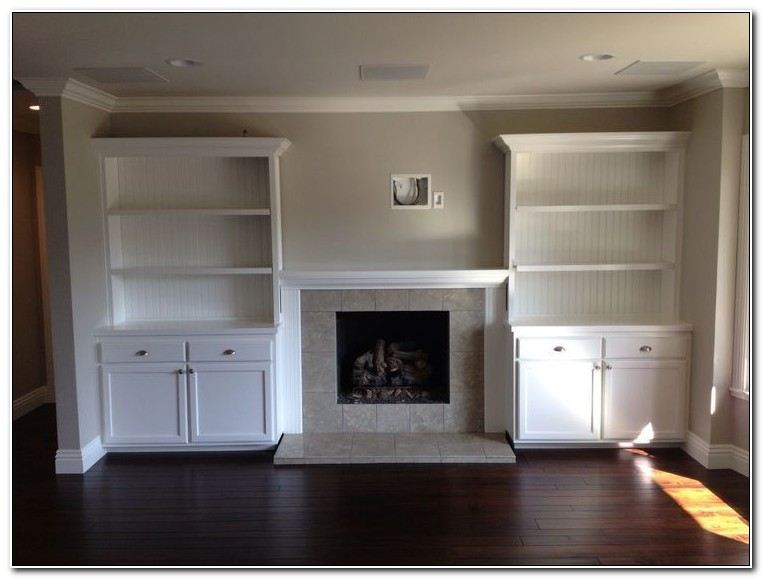 Built In Shelves And Cabinets