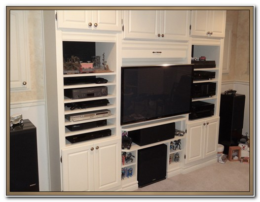 Built In Stereo Cabinet