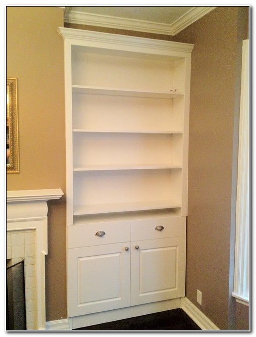 Built In Storage Cabinets Living Room