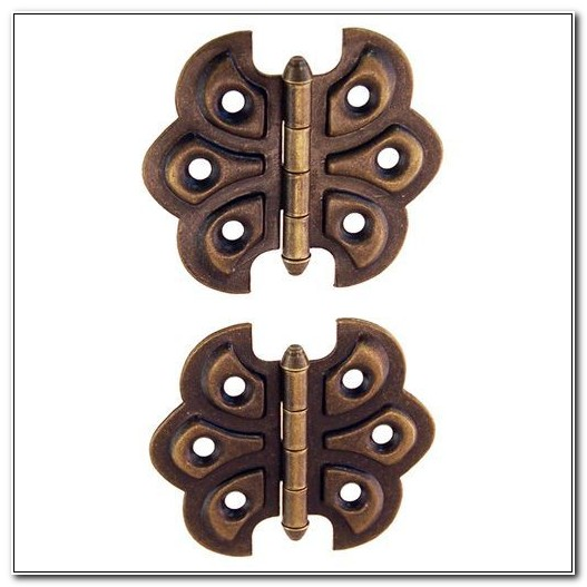 Butterfly Flush Mount Cabinet Hinges