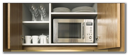 Cabinet Depth Microwave Oven