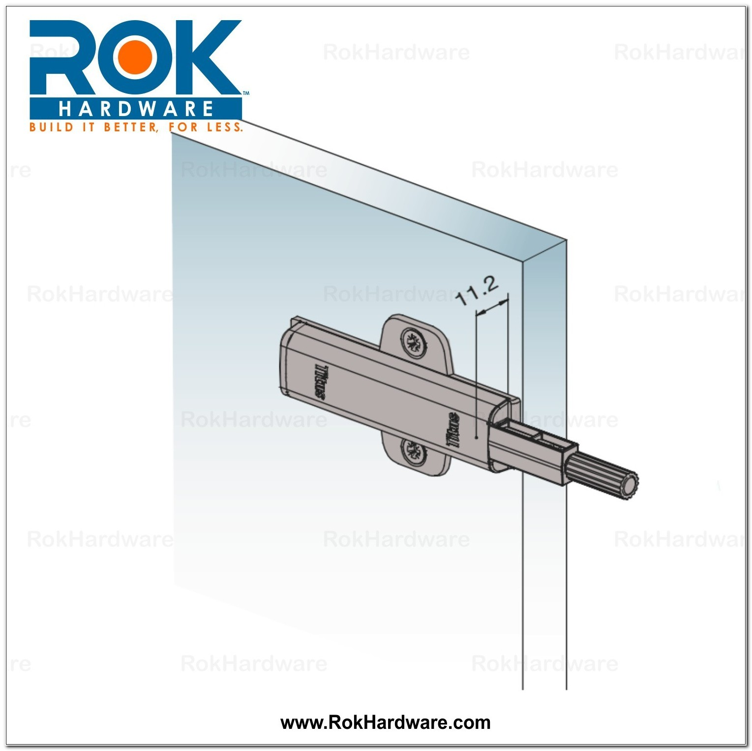 Cabinet Door Push Latch