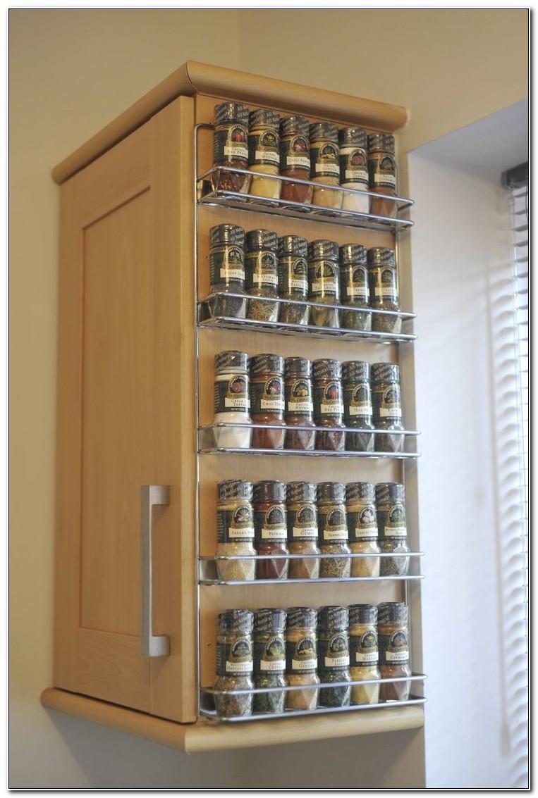 Cabinet Door Spice Rack Amazon