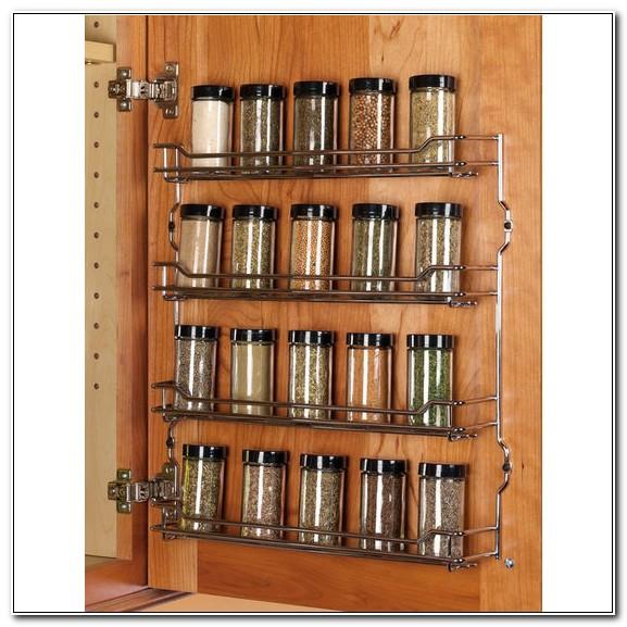 Cabinet Door Spice Rack Wire