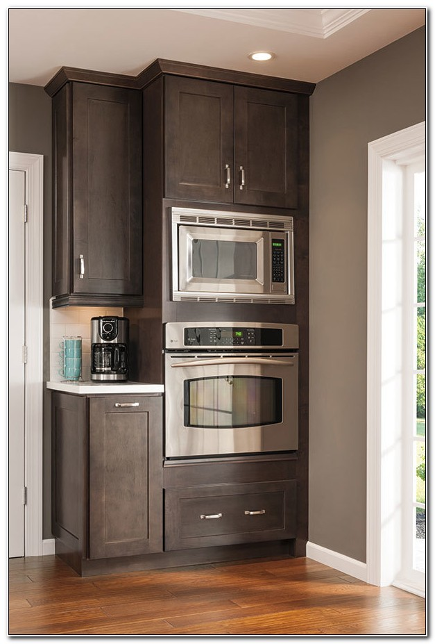 Cabinet For Built In Microwave And Oven