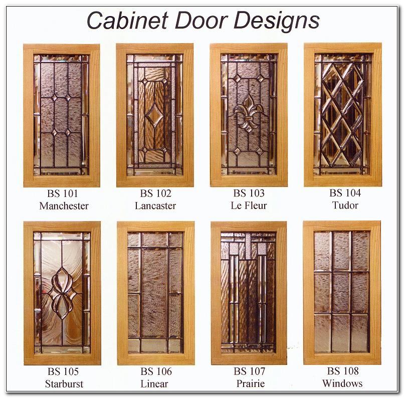 Cabinet Leaded Glass Door Inserts