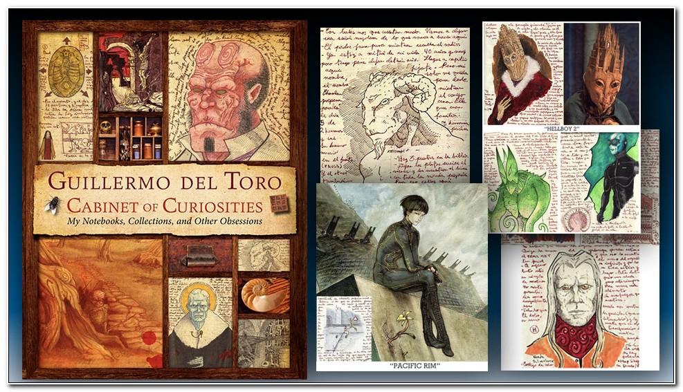 Cabinet Of Curiosities Book Del Toro