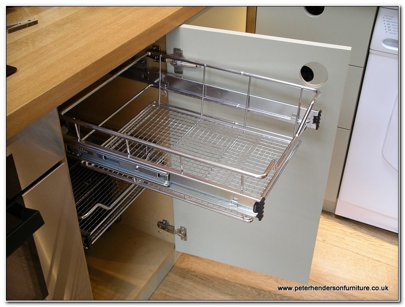Cabinet Pull Out Storage Baskets