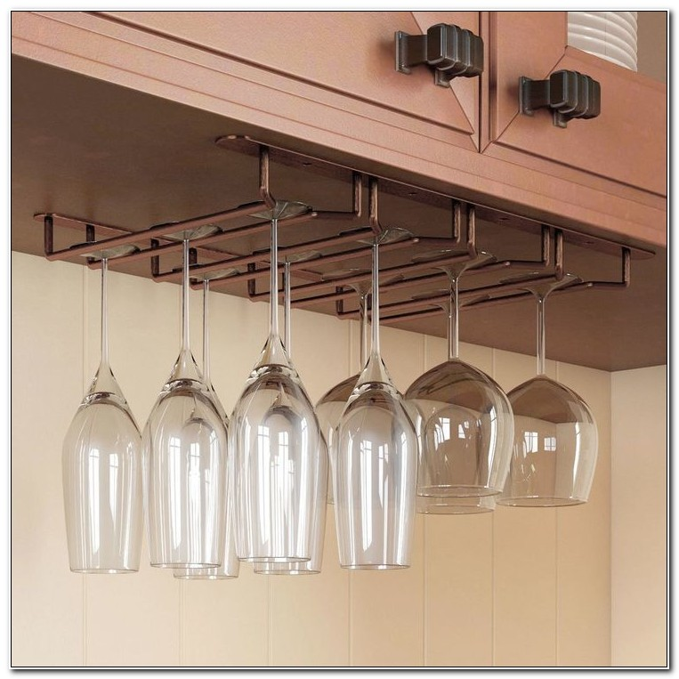 Cabinet Wine Glass Rack Insert