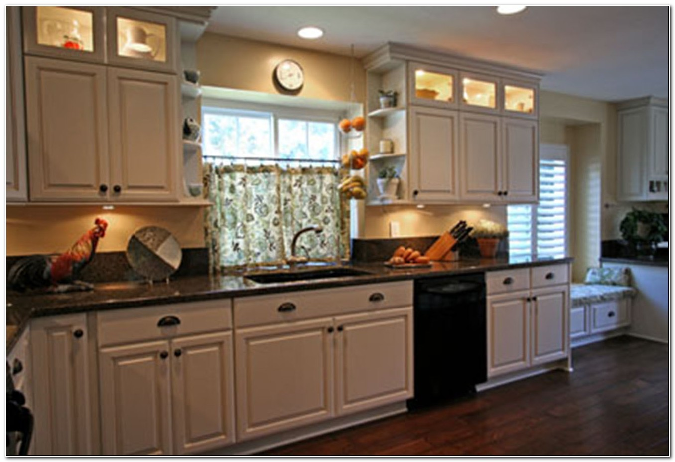 Cabinets With Glass Doors On Top