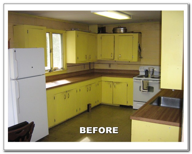 Can You Reface Metal Kitchen Cabinets