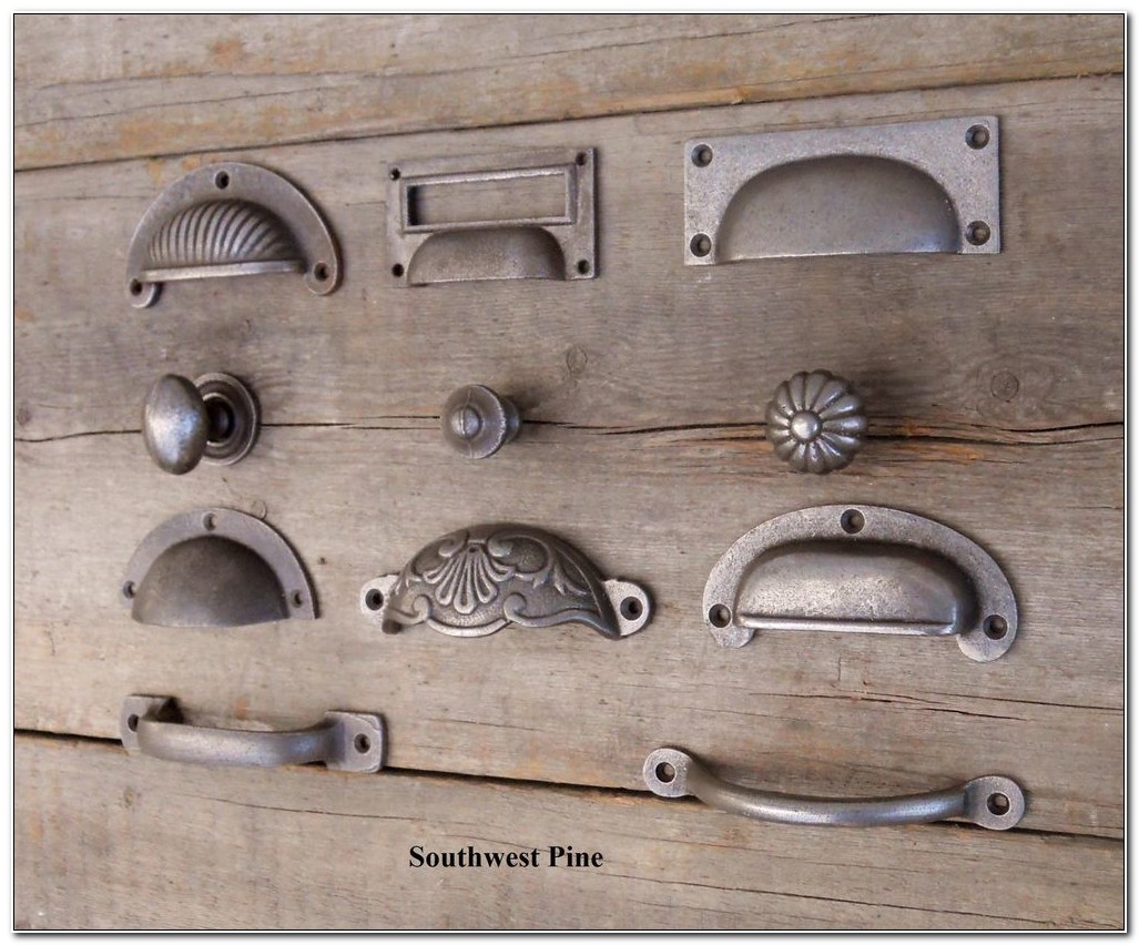 Cast Iron Kitchen Cabinet Pulls