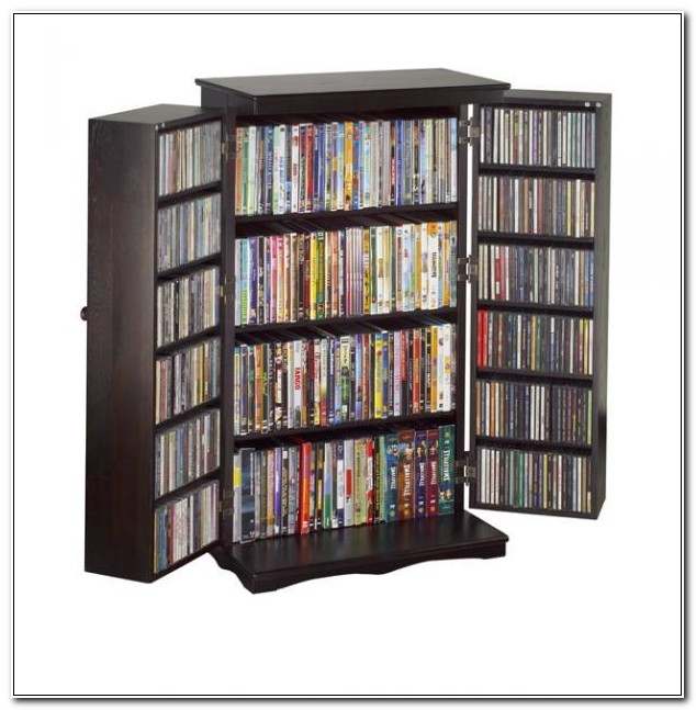 Cd And Dvd Cabinet Storage